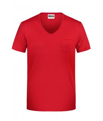 Herren Men's-T Pocket Red 8376