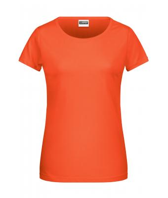 Damen Ladies' Basic-T Coral 8378