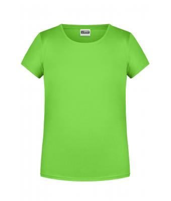 Bambino Girls' Basic-T Lime-green 8475