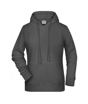 Damen Ladies' Hoody Graphite 8654