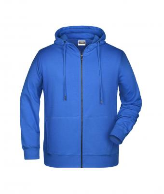 Men Men's Zip Hoody Cobalt 8657