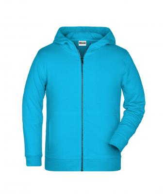 Kinder Children's Zip Hoody Turquoise 8658