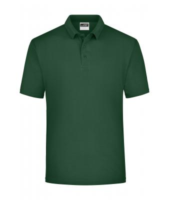 Men Polo Piqué Heavy Dark-green 7199