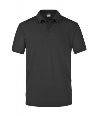 Herren Worker Polo Black 7203