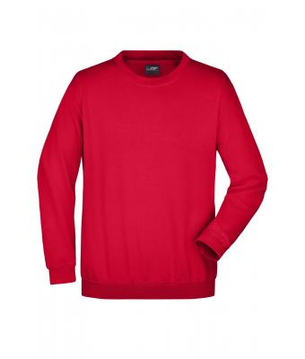 Unisex Round Sweat Heavy Red 7209