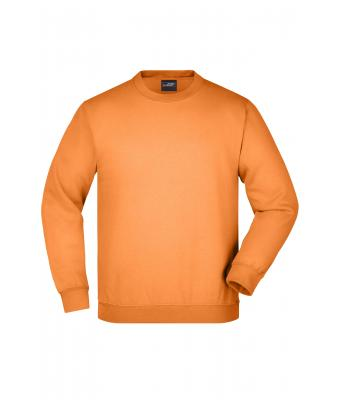 Kids Round Sweat Heavy Junior Orange 7210