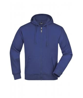 Men Men's Hooded Jacket Royal 7212
