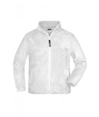 Bambino Full-Zip Fleece Junior White 7215