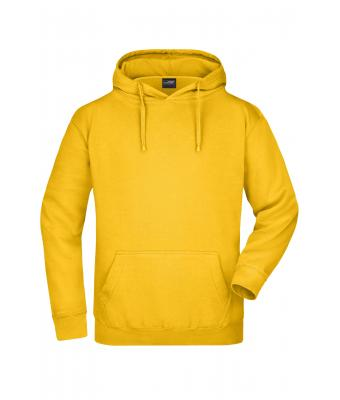 Homme Sweat-shirt à capuche homme Jaune-d'or 7218