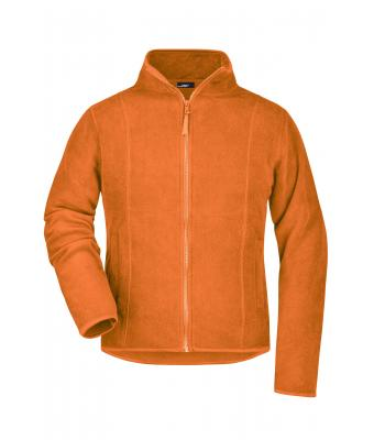 Donna Girly Microfleece Jacket Orange 7221