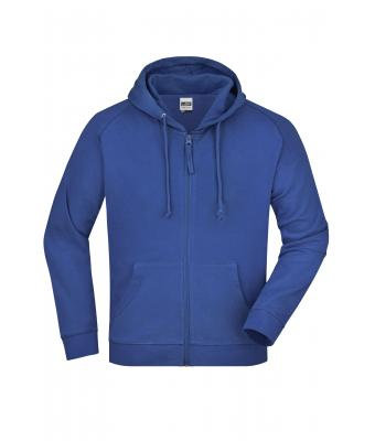 Unisexe Sweat-shirt zippé  avec capuche Royal 7231