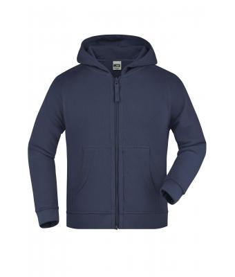 Kids Hooded Jacket Junior Navy 7232