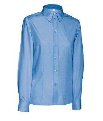 Donna Ladies' Blouse Long Blue 7237