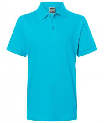 Kids Classic Polo Junior Turquoise 7241