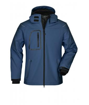 Uomo Men's Winter Softshell Jacket Navy 7259