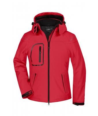 Ladies Ladies' Winter Softshell Jacket Red 7260