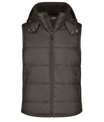 Herren Men's Padded Vest Mud 7263