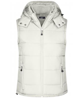 Damen Ladies' Padded Vest Natural 7264