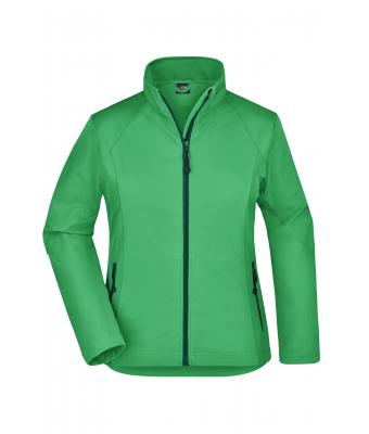 Damen Ladies' Softshell Jacket Green 7282