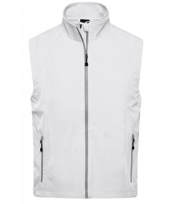Men Men's  Softshell Vest Off-white 7283
