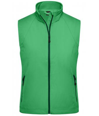 Donna Ladies' Softshell Vest Green 7284