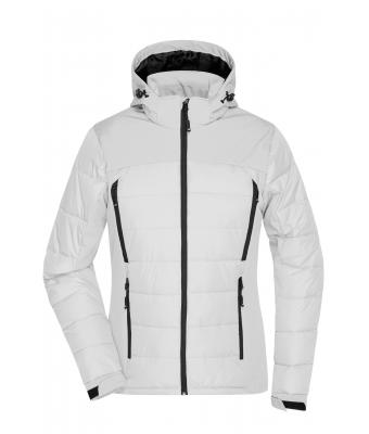 Damen Ladies' Outdoor Hybrid Jacket White 8092