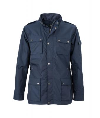 Herren Men's Urban Style Jacket Navy 8099