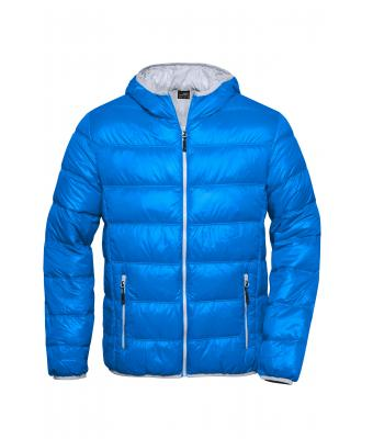 Herren Men's Down Jacket Blue/silver 8103