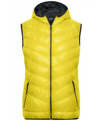 Damen Ladies' Down Vest Yellow/carbon 8104