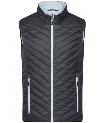 Herren Men's Lightweight Vest Black/silver 8270
