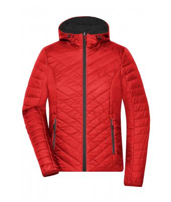 Damen Ladies' Lightweight Jacket Red/carbon 8271