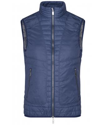Damen Ladies' Lightweight Vest Navy/silver 8333