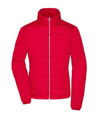 Damen Ladies' Padded Jacket Red 8382