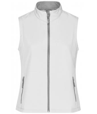 Damen Ladies' Promo Softshell Vest White/white 8409