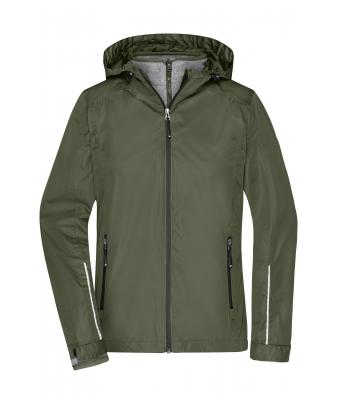 Donna Ladies' 3-in-1-Jacket Olive/black 8616