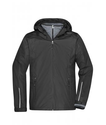 Uomo Men's 3-in-1-Jacket Black/black 8617