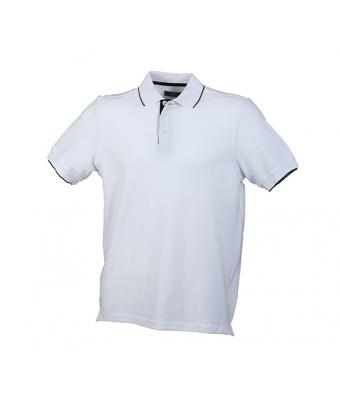 Unisex Campus Polo White/black 7313