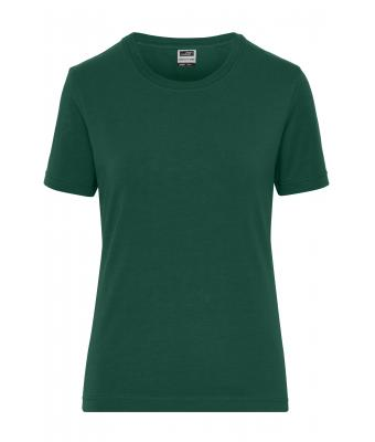 Donna Ladies' BIO Stretch-T Work - SOLID - Dark-green 8707