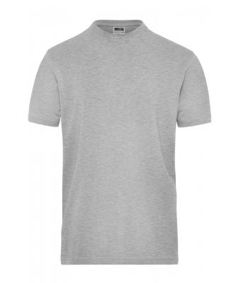 Uomo Men's BIO Stretch-T Work - SOLID - Grey-heather 8708