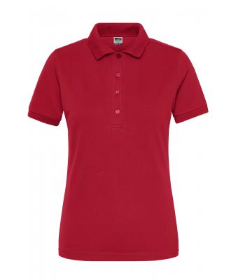 Donna Ladies' BIO Stretch-Polo Work - SOLID - Red 8704