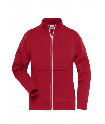 Ladies Ladies' Doubleface Work Jacket - SOLID - Red 8729
