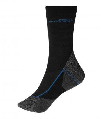 Unisex Worker Socks Cool Black/royal 8667