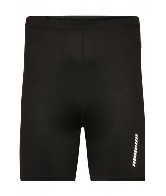 Uomo Men's Running Short Tights Black 7358