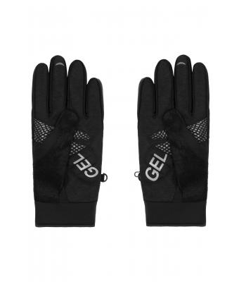 Unisex Bike Gloves Winter Black 7391