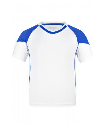Kids Team-T Junior White/royal 7396