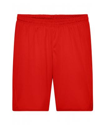 Unisex Team Shorts Red 7447