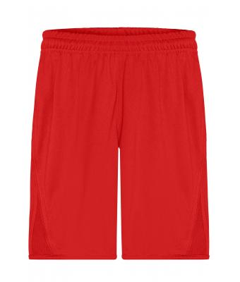 Kids Team Shorts Junior Red 7448