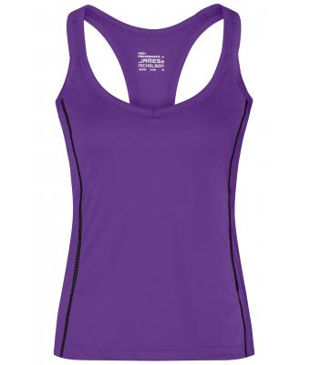 Ladies Ladies' Running Reflex Top Purple/black 7490
