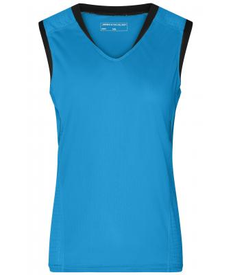 Ladies Ladies' Running Tank Atlantic/black 8199
