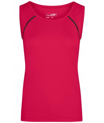 Damen Ladies' Sports Tanktop Bright-pink/titan 8462